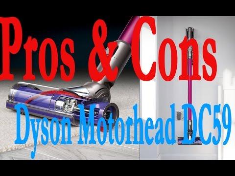 20 Problems | Dyson Motorhead DC59 Plus | Pros & Cons