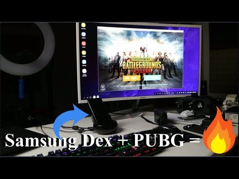PUBG Mobile With Samsung Dex!! (Keyboard & Mouse)