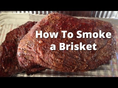 Competition Brisket Recipe - How To Smoke Beef Brisket and Burnt Ends