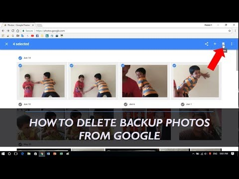 How to Delete Backup Photos from Google