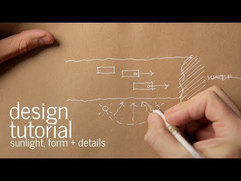 Architectural Design Process | Form, Orientation and Sunlight