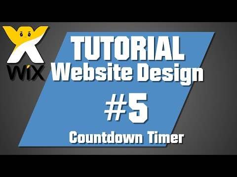 Wix Tutorial: Links & Countdown Timer | 05