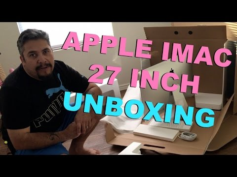 Refurbished Apple iMac 27-inch Unboxing - October 2015 Release