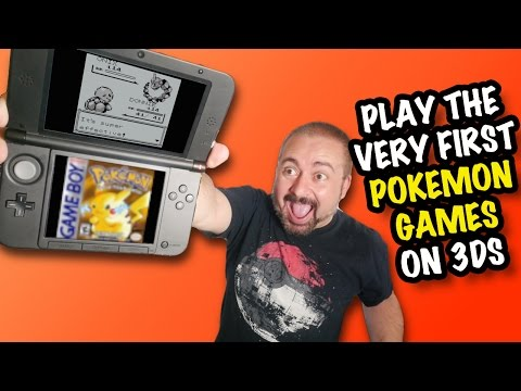 Nostalgia & RANT! Pokémon Red, Blue & Yellow on 3DS Virtual Console