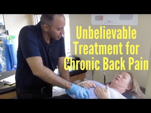 Chronic Back Pain Decreased in No Time!
