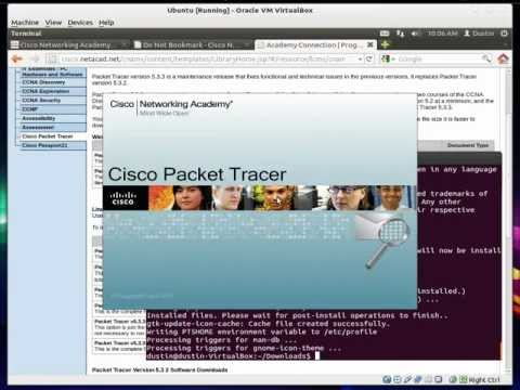 Install PacketTracer (Ubuntu 11.10 64bit Linux)
