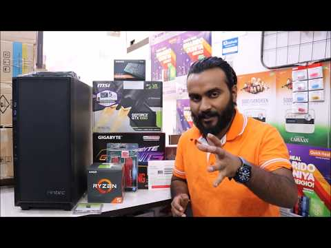 AMD Ryzen 5 2600x 2nd Gen Build   1 Lakh Budget   Gaming and Video Editing PC