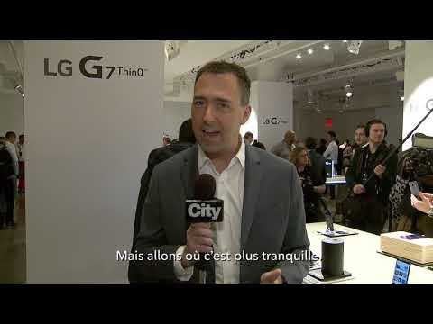 Première expérience pratique du LG G7