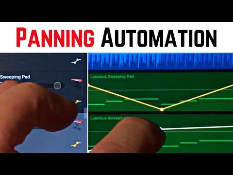 Panning Automation in GarageBand iOS (iPhone/iPad) - GarageBand for iPhone Quick Tip