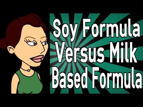 Soy Formula Versus Milk Based Formula