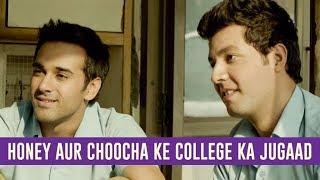 Honey aur Choocha ke college ka jugaad   Fukrey   Pulkit Samrat   Varun Sharma