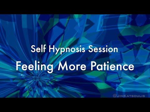 Self Hypnosis Video: Feeling Patience