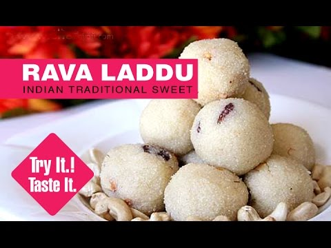 How To Make Ravva Laddu | Traditional Indian Sweet Recipes | Dessert Recipes