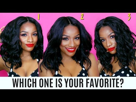 $27 Summer Bob Wigs   Which One Is Your Favorite? It's #WIGWEEK!