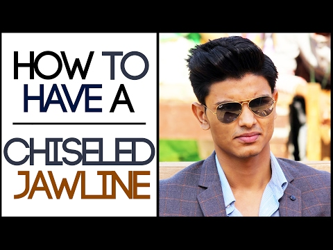How To Have A CHISELED JAWLINE | Man's Guide TO a LEAN HANDSOME FACE | Mayank Bhattacharya