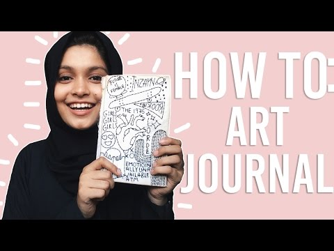 How to art journal from scratch