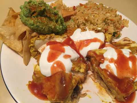 Easy and Best Vegan Enchilada Meal