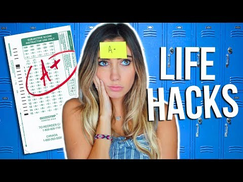 10 Back To School LIFE HACKS Everyone Should Know!! 2017