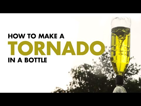 How to make a Tornado in a Bottle - easiest way