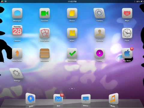 How to get a Screensaver on IPad, IPod, iPhone