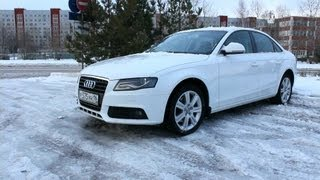 2008 Audi А4 2.0 TDI. Start Up, Engine, and In Depth Tour.
