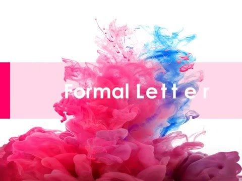 Letter writing formal and informal easy with example and editing
