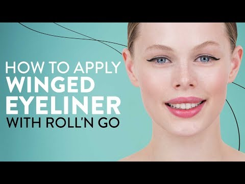 How To Apply Winged Eyeliner With Roll'N Go