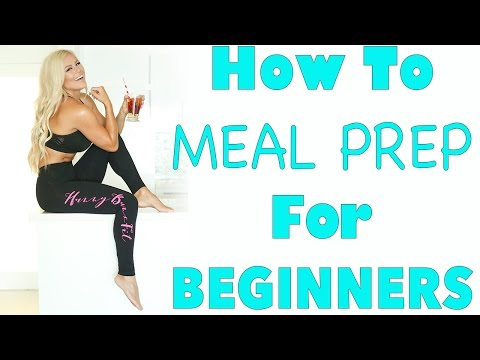 How To MEAL PREP for WEIGHT LOSS | EP19