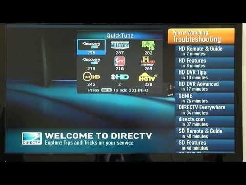 Direct tv Tips Quick Tune