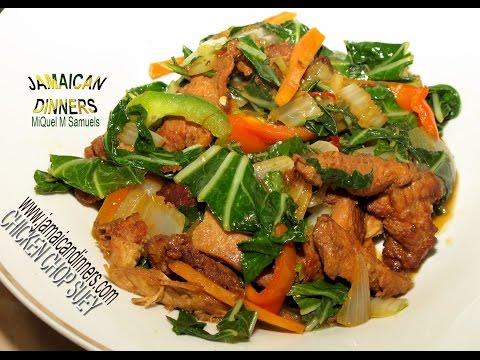 CHICKEN CHOP SUEY: Asian Americas Dinners
