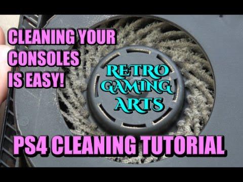 PS4 CLEANING TUTORIAL - RGA