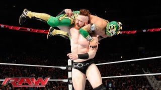 Dean Ambrose & Kalisto vs. Sheamus & Alberto Del Rio: Raw, January 18, 2016