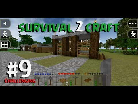 SurvivalCraft 2 - CHALLENGING #9 | Creating horse stable Part 2