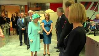 The Queen meets BBC stars