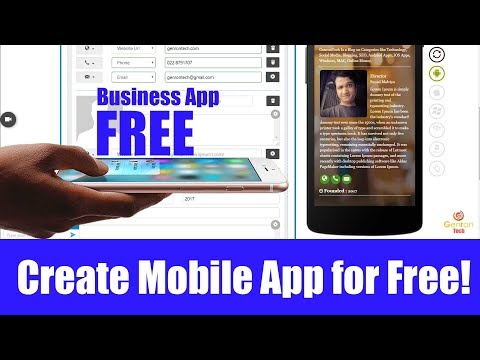 Hindi - Create Mobile App for Free! Android, IOS Without coding and Programming