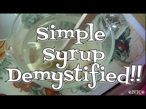 Simple Syrup Recipe ~ Noreen's Kitchen Basics