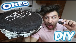(FIRE ALARM!!) DIY GIANT OREO COOKIE | HOW TO MAKE A GIANT OREO COOKIE (100+ LB BIGGEST OREO OVER)