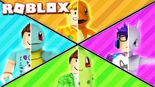 Roblox Adventure - TRANSFORM INTO POKEMON IN ROBLOX! (Roblox Pokemon RP)