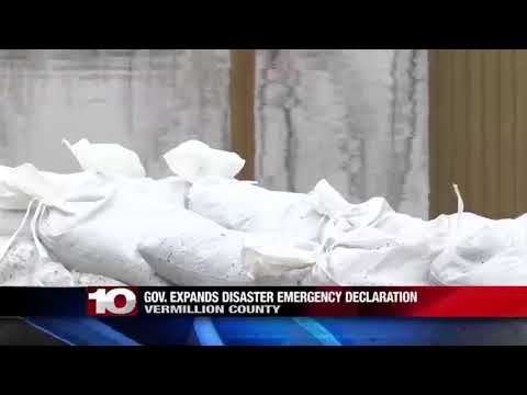 Vermillion County Flood declaration