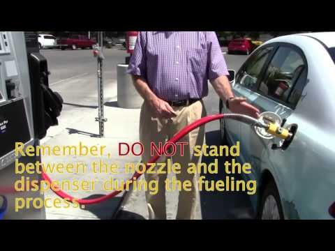 How to Fuel a Natural Gas Vehicle
