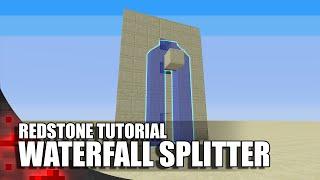 Minecraft Simple Waterfall Splitter