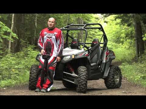 Dirt Trax Test Rides 2009 Polaris RZR Sport