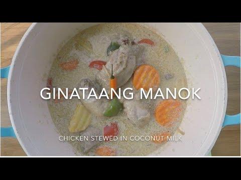 Ginataang Manok