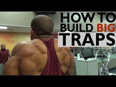 HOW TO BUILD BIG TRAPS: 3 MUST DO EXERCISES