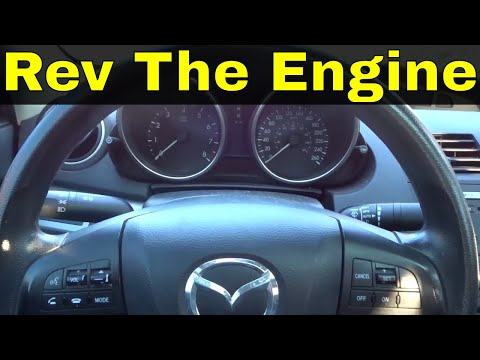 How To Rev The Engine In An Automatic Car-Driving Tutorial