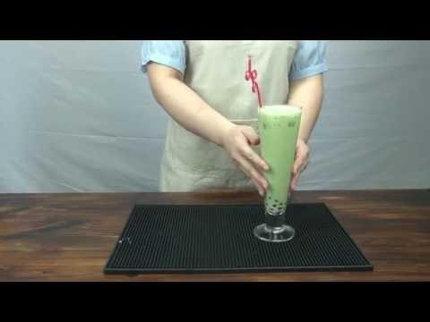 How to make matcha milk tea? How to make matcha bubble tea?