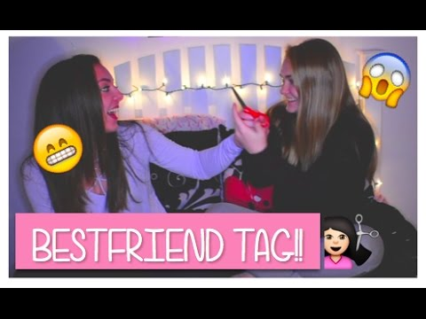 BESTFRIEND TAG!!👭 GONE WRONG!!💇🏻😱 |JAYCIE AND ABBIE|