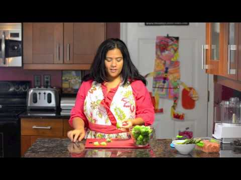 Eat Happy: Cutting Brussel Sprouts