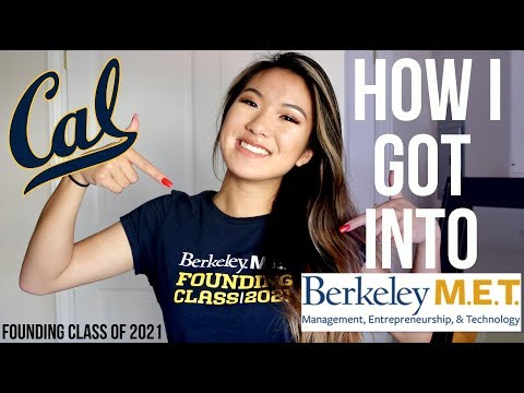 How I got into the M.E.T Program at UC Berkeley: My Scores, Essays, and Resume | mereheartsyou