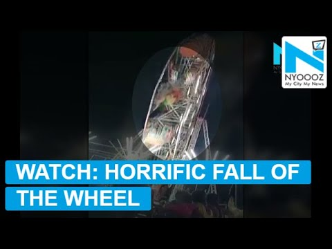 10-year-old killed, 6 injured in giant wheel crash at fair in Anantapur